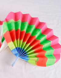 paper fans korean paper fans activity education