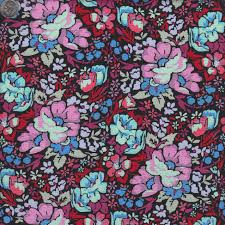 Anna Maria Horner Home Decor Fabric by Anna Maria Horner Floral Retrospective Overachiever In Velvet