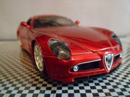 alfa romeo 8c alfa romeo 8c competizione bburago red car review burago youtube