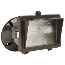 150 watt flood light designers edge l56br 150 watt bronze mini halogen flood light with