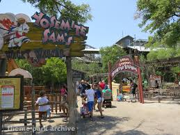 Six Flags Poltergeist Six Flags Fiesta Texas Theme Park Archive