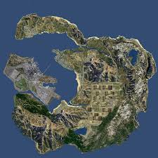 Map Of Usa Hd by San Fierro North San Andreas Hd Remake Grand Theft Auto