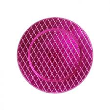 pink couture charger plates bulk 24 plates 402645 pink