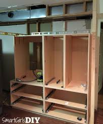 How To Level Kitchen Base Cabinets How To Build A Pantry Wall With Barker Cabinets