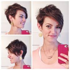 asymmetrical pixie cut with long bangs hair pinterest