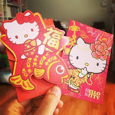 lunar new year envelopes happy lunar new year got these kawaii hellokitty