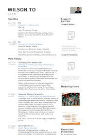 undergraduate resume template undergraduate researcher resume sles visualcv resume sles