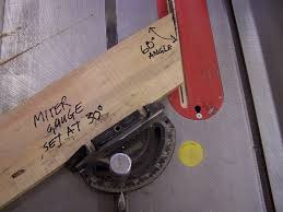 miter cuts on table saw angles and setting on the miter saw woodworking talk woodworkers
