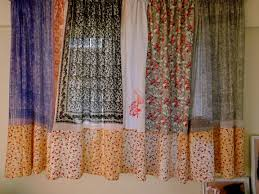 Scarf Curtains Curtains Out Of Scarves Ameezing