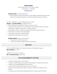 Resume Definition Job by Yamuna Reddi Resume