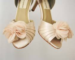 Wedding Shoes Peep Toe Ellie Wren Custom Wedding Shoes