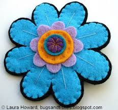 felt flowers how to make felt flowers 16 ways tiny fry