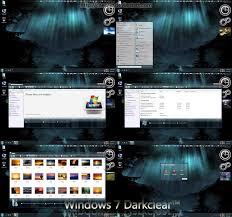 windows 7 darkclear by caeszer on deviantart
