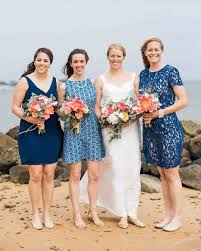 a blue and white nautical wedding on the cape martha stewart