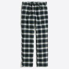 plaid flannel pajama pant men u0027s pajamas j crew factory