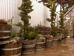 Half Barrel Planters by Wildly Whimsical Barrel Planter Ideas Garden Lovers Club