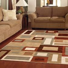 Area Rugs Brown Better Homes And Gardens Franklin Squares Area Rug Or Runner