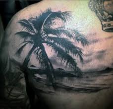 100 palm tree tattoos for tropical design ideas all kinds