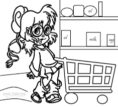 printable chipettes coloring pages coloring