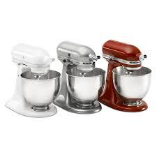 Kitchenaid Artisan 5 Qt Stand Mixer by Kitchen Kitchenaid Mixer Models Artisan Series 5 Quart Tilt