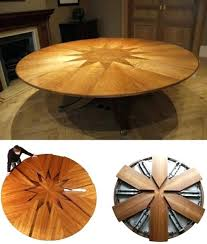 expandable round dining table expanding round dining table ed ex me