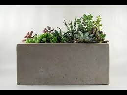 tip of the day concrete planter youtube