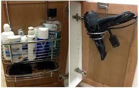 genius bathroom organizing tricks