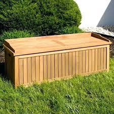 wooden garden storage bench image for storage bench garden