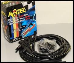 accel 5000 spark plug wires sbc chevy 305 350 383 400 406 for hei