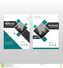 business report template green business brochure leaflet flyer annual report template green square vector annual report leaflet brochure flyer template design book cover layout design