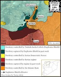 Syria Battle Map by Contrary To Turkish Optimism An Arduous Battle Against A U0027dug In