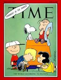 magazine cover peanuts apr 9 1965
