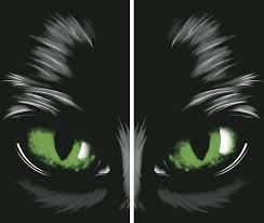 amazon com wowindow posters green eyed glowing eyes halloween