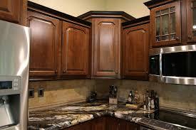 voguish corner kitchen cabinet regarding home decor upper corner