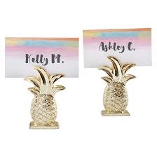 12ct gold pineapple place card holder target