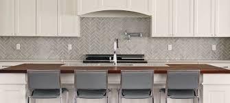 Love The Sink Herringbone Champagne Glass Subway Tile Cream - Herringbone tile backsplash