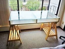 Ikea Glass Table Top by Ikea Office Table Zamp Co