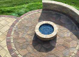 belgard fire pit belgard patio with fire pit by chicagoland patio builder patios