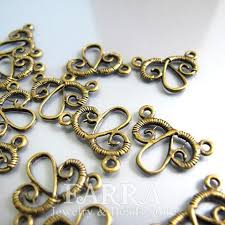 Chandelier Making Supplies Earring Findings Earring Chandelier 17 14mm Brass Earring