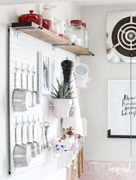 Pegboard Ideas Kitchen Even More Ideas To Decorate Your Walls Inspired By Charm