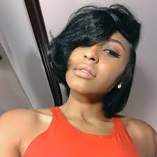 layered bob sew in hairstyles for black women for older women 50 short hairstyles for black women stayglam