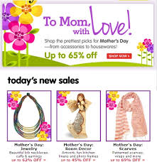 mothers day jewelry sale s day totsy sale jewelry scarfs kitchen and more