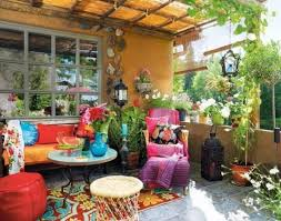 bohemian decorating patio decorating ideas at home and interior design ideas