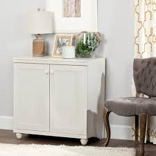 south shore storage cabinet south shore hopedale white wash 2 door storage cabinet 10313 the