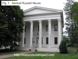 Neoclassical Style Homes Historic Buildings Of Connecticut Greek Revival Houses