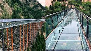 this 1 640 foot glass slide in mountains china isn u0027t for