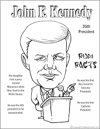 lincoln coloring pages john f kennedy coloring page coloring pages pinterest social