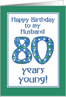age specific birthday cards for husband from greeting card universe