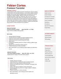 teach for america sample resume teacher resume format