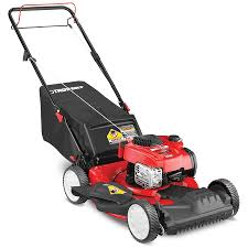 shop gas push lawn mowers at lowes com